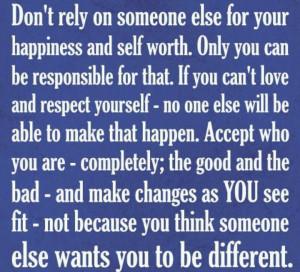 Happiness & Self-Worth
