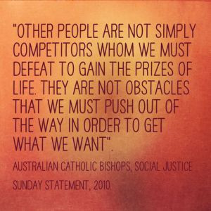 ... zero sum attitude of winning or losing? Do we define ourselves as