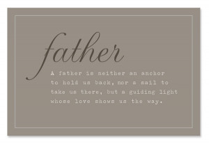 Stepfather Quote ~ Shows, Protects & Teaches (Father's Day)