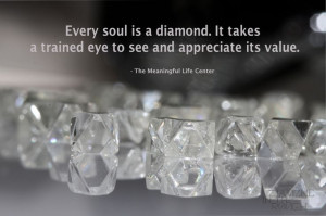 ... trained eye to see and appreciate its value #diamond #quote #soul