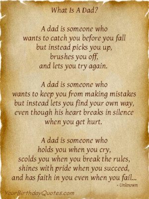 """Happy Father's Day – """"What is a Dad?"""""""