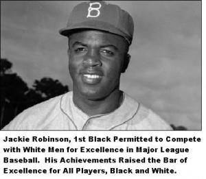 Jackie Robinson Quotes About Racism First saw jackie robinson.