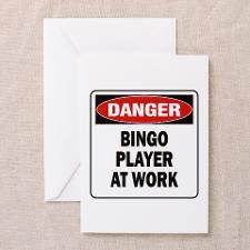 Funny Bingo Greeting Cards