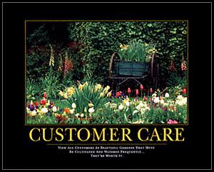 Customer Care - Flower Garden
