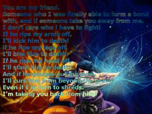 Forever friends sasuke life quotes naruto HD Wallpaper