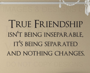 Details about Wall Quote Decal Sticker Vinyl Friendship isn't being ...