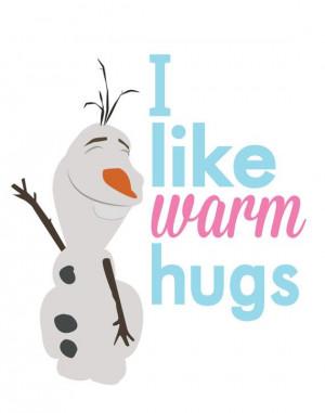 Frozen Frozen Quotes