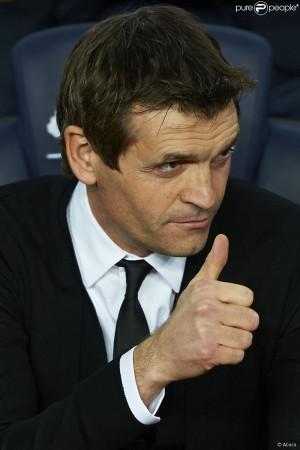 Tito Vilanova le 6 janvier 2013 au Camp Nou lors de la victoire du FC