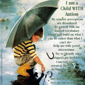 Today I want to share with you a few of my favorite Autism Quotes!