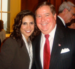 Congressman Ken Calvert of California Elizabeth Dole and Ken Calvert