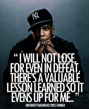 jayz i will not lose