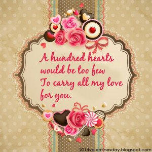 Valentine's Day 2015 Sayings and Greetings quotes