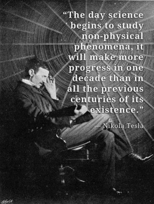 Nikola Tesla quotes