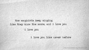 """Fleetwood Mac, """"Songbird"""""""