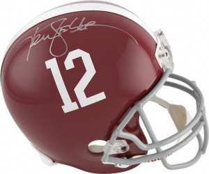 Ken Stabler Autographed Helmet
