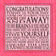 Graduation Quotes, Word Art, Graduation Ideas, Congratulations Quotes ...