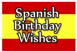 Happy Birthday Wishes Spanish