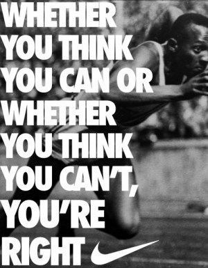 can or you can t you re right fitness quotes
