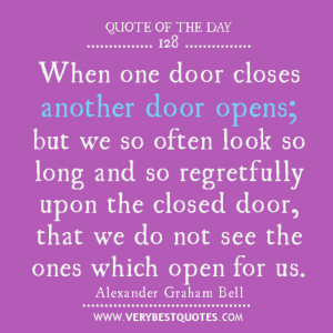 quote of the day - Alexander Graham Bell quotes