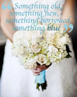 Wedding Wednesday    Something Blue