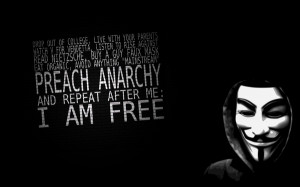 anonymous freedom text quotes typography anarchy black background ...