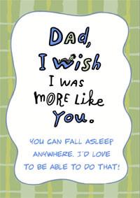 Funny Dad's Birthday Card