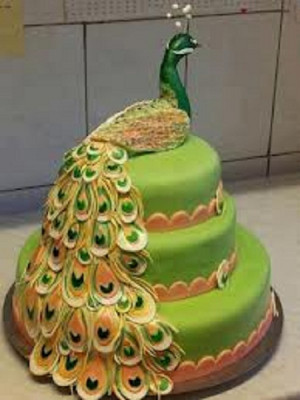 عکس کیک تولد طاووس,عکس تولد طاووس,عکس ...
