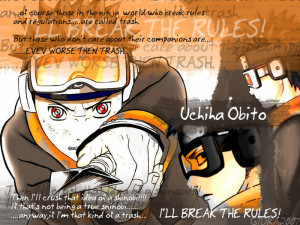 Naruto Shippuuden obito
