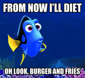 Description: Funny Diet Quotes MEMES Pictures...