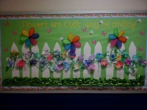 spring bulletin boards