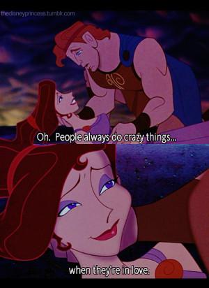 Disney Hercules and Meg