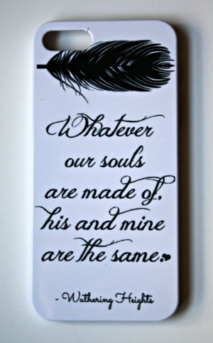 Case - Quote iPhone Case 4/ 4S / 5 - Literary iPhone Case - Word ...