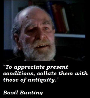 Basil bunting quotes 5