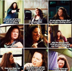 Melissa McCarthy:- the heat