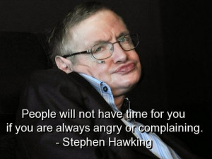 What Talking is going on about Stephen Hawking on Picasa