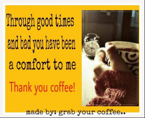 Yes - thank you, coffee!