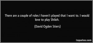 David Ogden Stiers Quote...