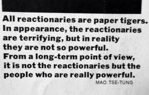 Mao Tse tung quote