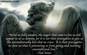 Angel And Devil Love Quotes Angels of love quote