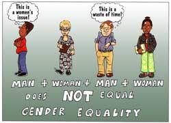 Man + woman + man + wpman does