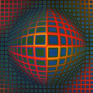 Victor Vasarely Vega Nor picture
