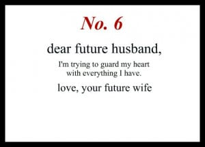 ... my feet lol)Dear Future Husband Quotes, Waiting On My Forever Quotes