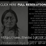 indian chief quote