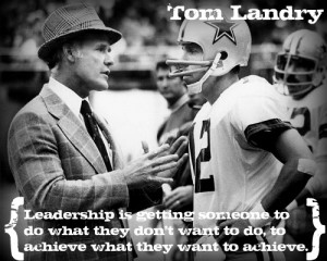 Who is your favorite leader, and what do they say about leadership?