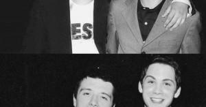 Josh Hutcherson and Logan Lerman