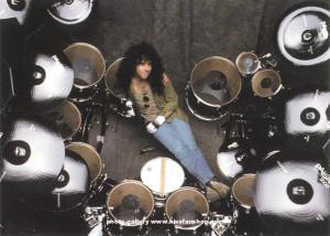 Eric Carr Drum Set