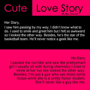 cute love story quotes