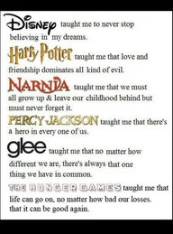Disney Taught Me To Never Stop Believing In My Dreams, Harry Potter ...