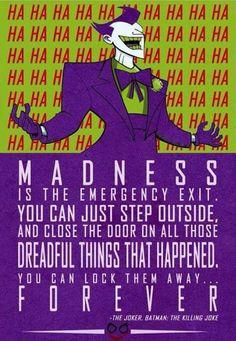 Quote du Joker dans The Killing Joke