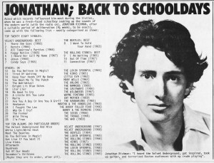 To help improve the quality of the lyrics, visit Jonathan Richman ...